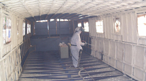 insulating a Dutch barge