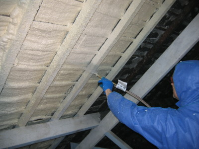 Loft attic and roof insulation with diy spray foam insulation insulating barn conversions solutioingenieria Image collections