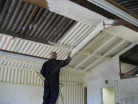 insulating an agricultural barn