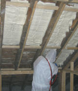 roof insulation with Handi-foam