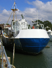 insulating an ex-trawler